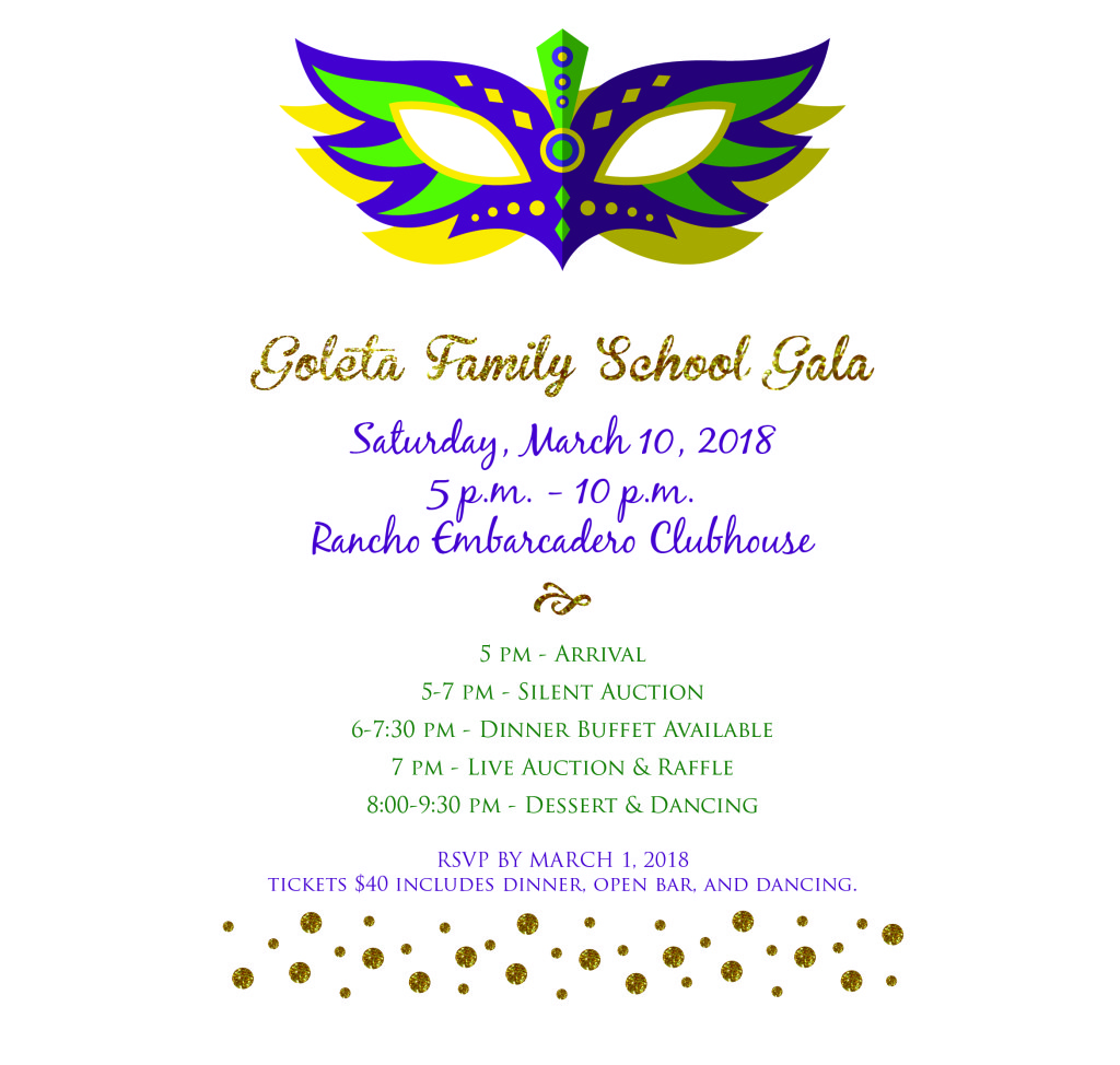 GFS Gala Invitation
